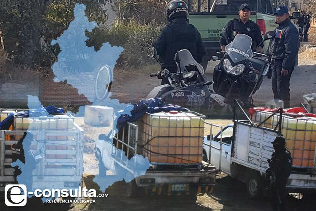 Asume Gobierno de Puebla labores de seguridad en San Martín Texmelucan