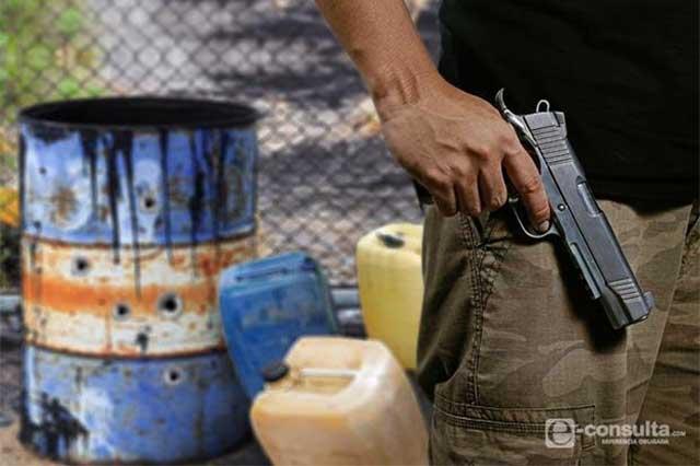 Nuevo ataque de huachicoleros a policías estatales en Acajete