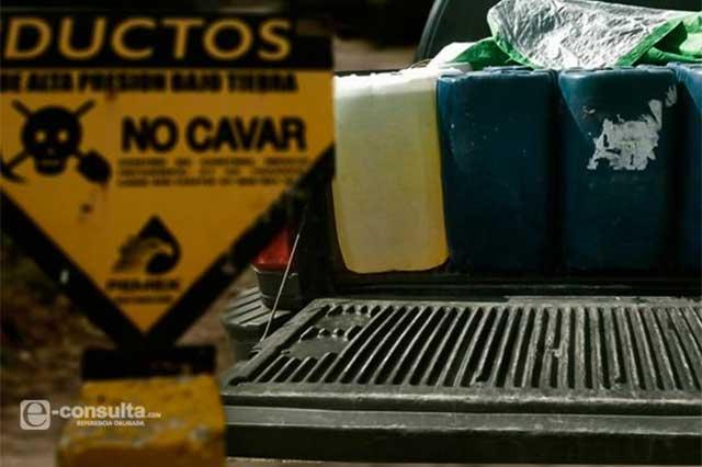 Puebla encabeza ordeña de ductos de Pemex en el país