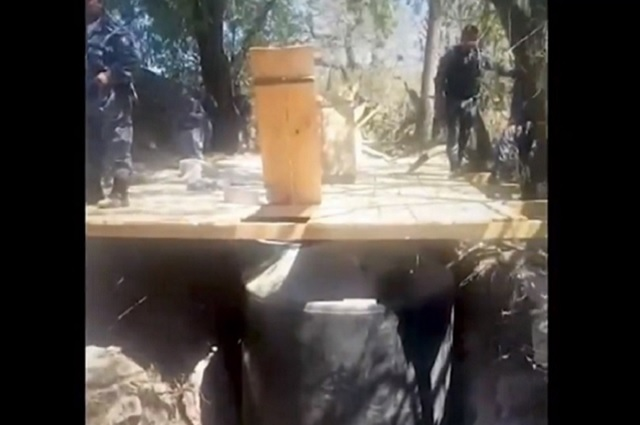 Con drones, en Hidalgo descubren fosas clandestinas de huachicol