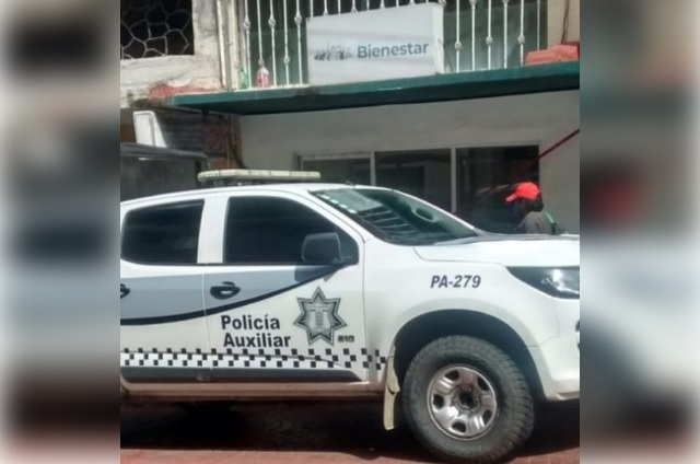 Roban sede del Banco del Bienestar en Huauchinango