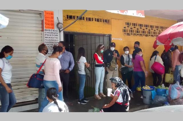 Piden comerciantes de Huauchinango inspección a PC Estatal