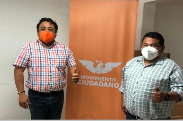 Antorchista en Huauchinango se va con Movimiento Ciudadano