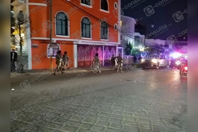 Balacera contra municipales de Huauchinango deja 5 detenidos