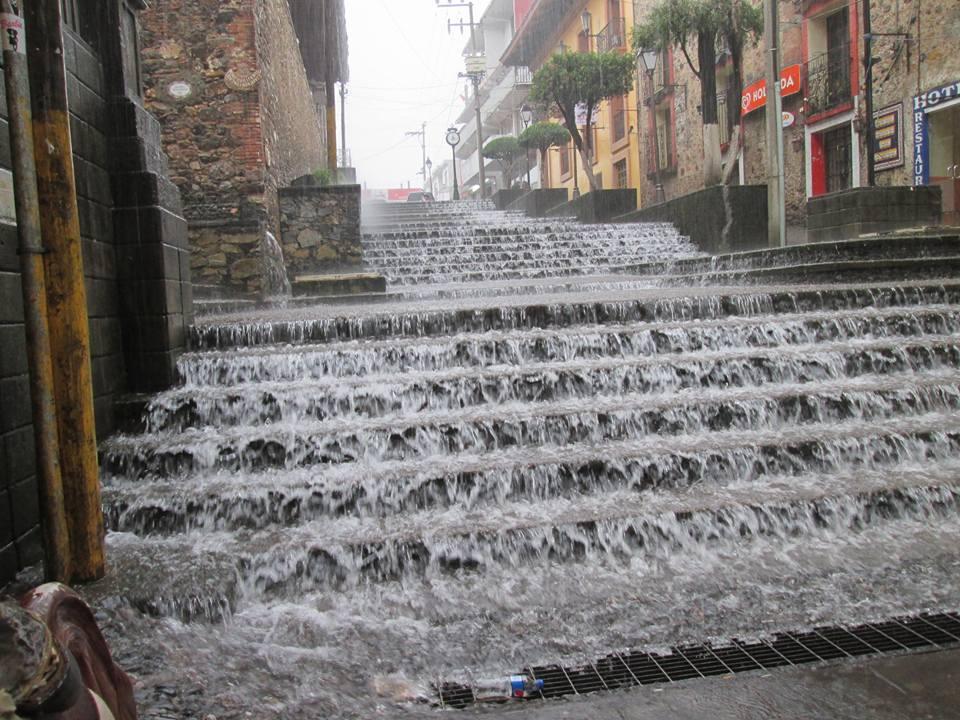 En un día cayó en Huauchinango la lluvia de todo un mes: Conagua