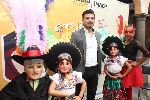 Festival de Huehues en Puebla