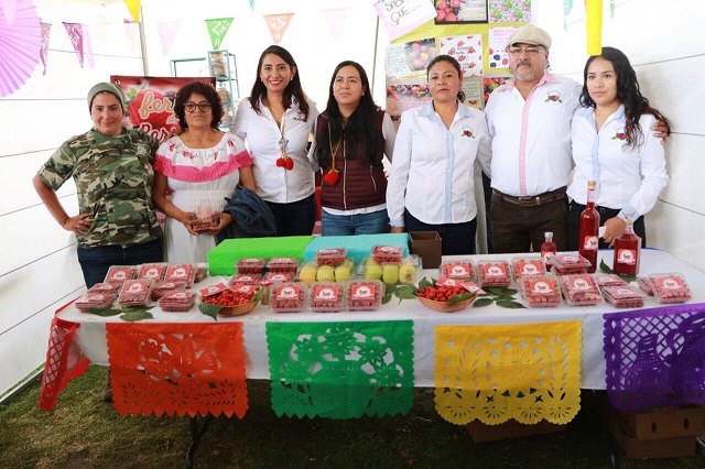 Con gobierno estatal, proyectos de alto impacto en Huejotzingo: Angélica Alvarado