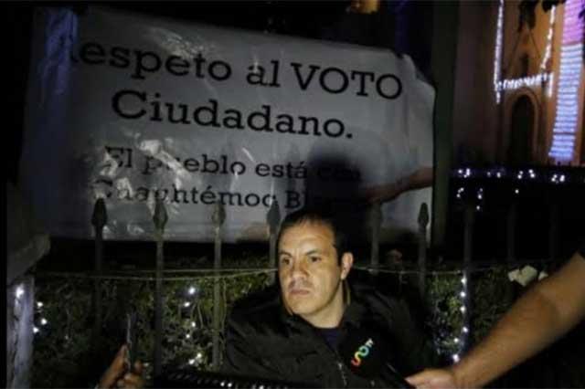 'Cocinan' juicio político a Cuauhtémoc Blanco