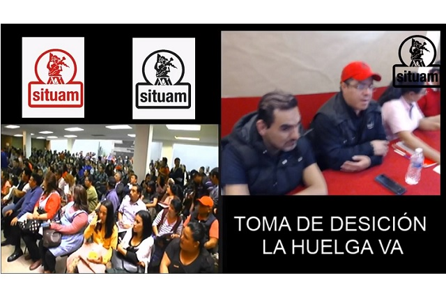 Trabajadores inician huelga en la Universidad Autónoma Metropolitana