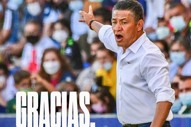 Huesca despide a Nacho Ambriz; duró solo 3 meses en España