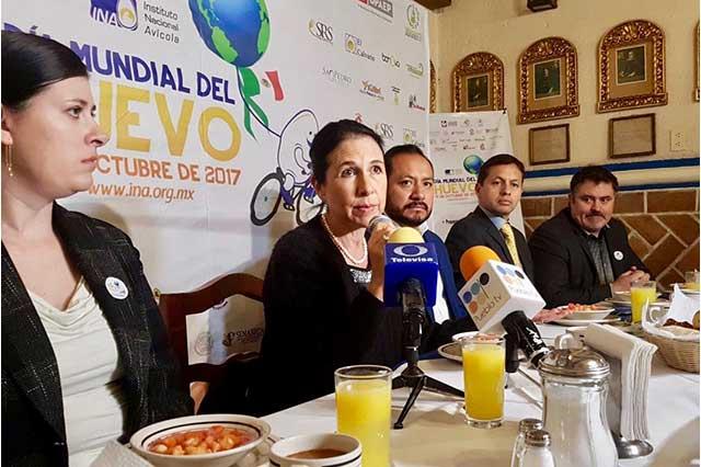 Puebla es el segundo productor nacional de huevo, luego de Jalisco