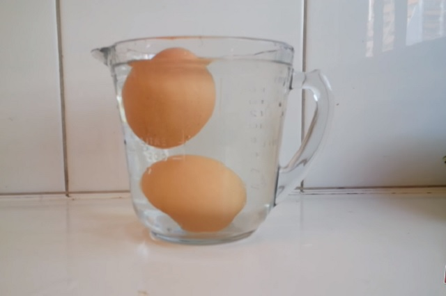 El truco para saber si un huevo se echó a perder