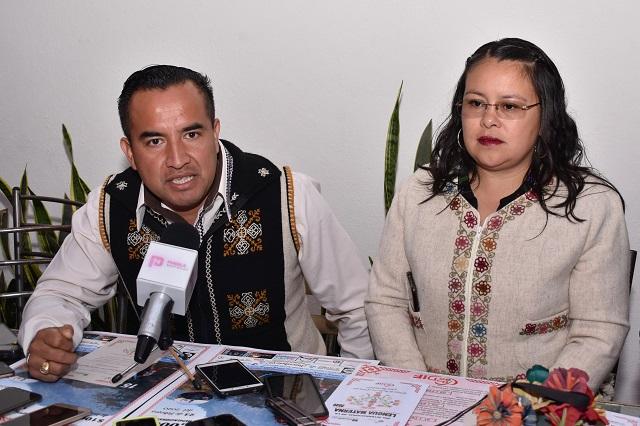 Buscan en Hueyapan realzar orgullo náhuatl con festival