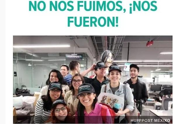 Sin explicaciones a empleados, Grupo Imagen cierra The Huffington Post México