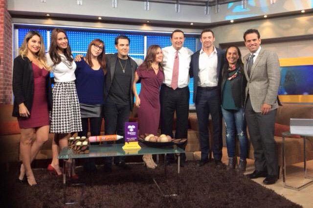 Momentos de tensión se vivieron en visita de Hugh Jackman a Televisa