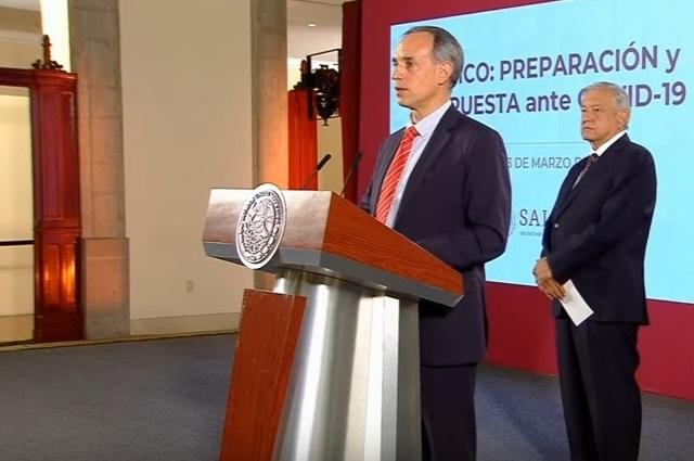 López-Gatell pide bajarle al miedo al coronavirus y no caer en pánico