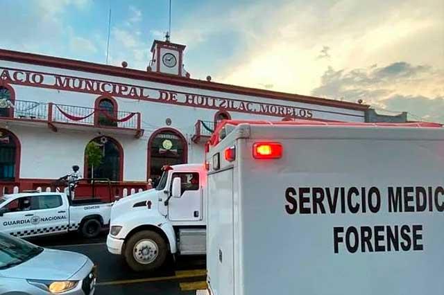 Ciudadanos calcinan a 2 presuntos ladrones en Morelos