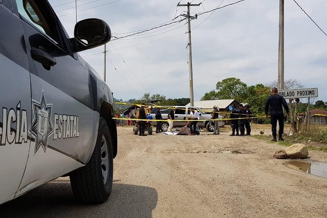 Asesinan a veracruzano en la Sierra Norte de Puebla