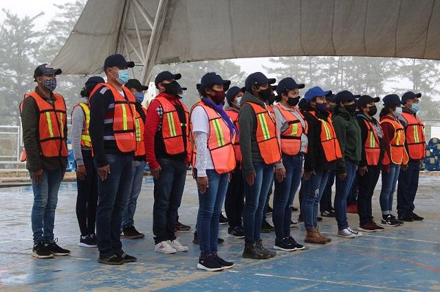 Buscan seguir reclutando policías en Sierra Nororiental