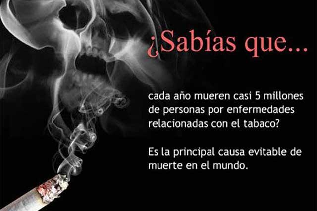 Saludable, que México sea un país libre de humo de tabaco