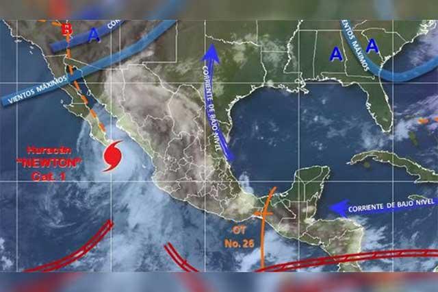 El huracán Newton deja saldo blanco en Baja California Sur