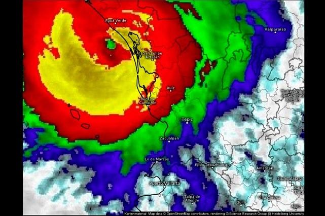 Deslaves, principal riesgo por el huracán Willa