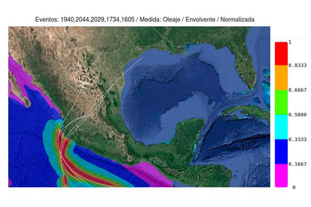 Son simulaciones numéricas, generan huracanes sintéticos