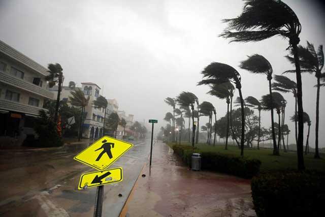 Se degrada el huracán Irma a categoría 1