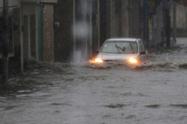 Así tocó tierra el huracán Delta en Quintana Roo