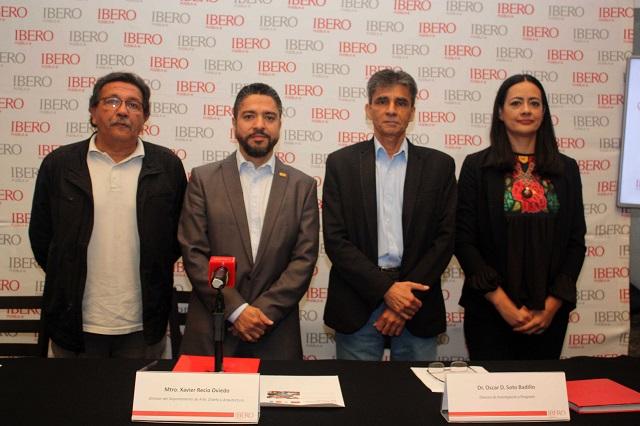 Informan en la Ibero de ayudas a damnificados por el sismo de 2017