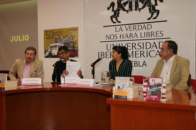 Analizan en la Ibero Puebla el inicio del movimiento estudiantil de 1968