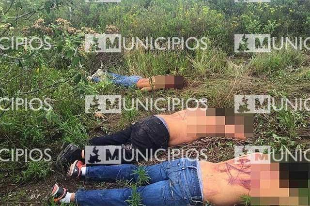 Identifican como dos taxistas y un obrero a los ejecutados en Tehuacán