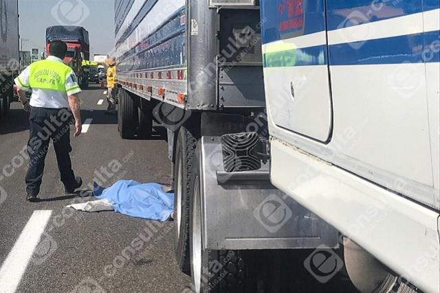 Era guatemalteco el hombre arrollado en la Puebla-Orizaba