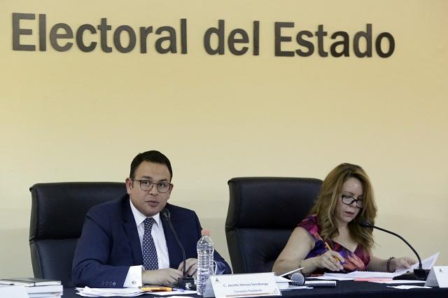 IEE todavía no admite queja del PAN contra Miguel Barbosa