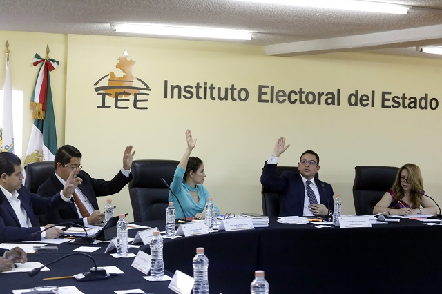 Con oposición, avala IEE candidatos a alcaldías y diputaciones locales
