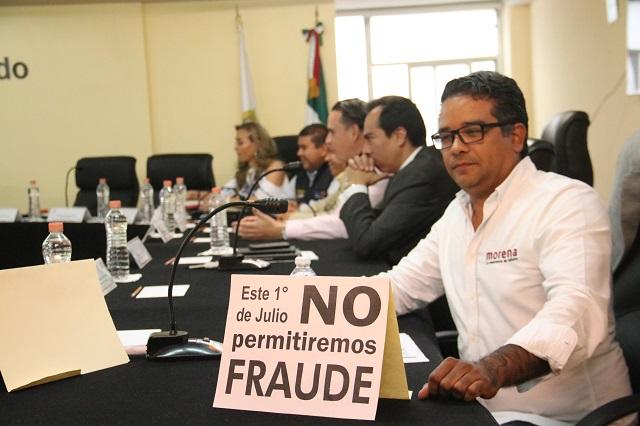 Confronta a partidos riesgo de fraude y candidatura de Villarroel