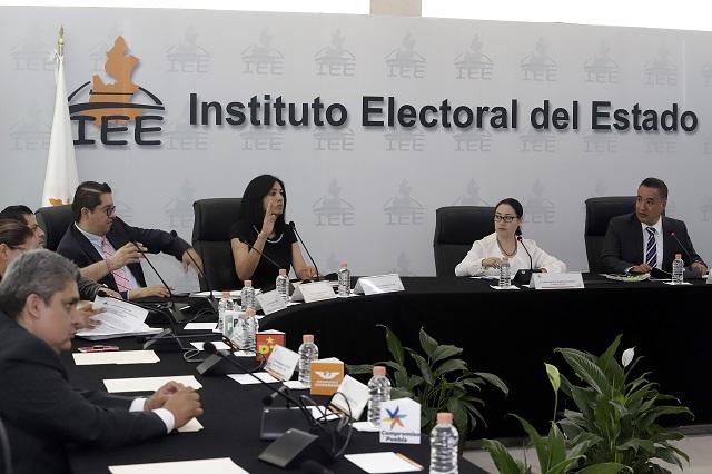 Ejecuta IEE multas por 171 mp contra PRI, Morena, PT y PVEM