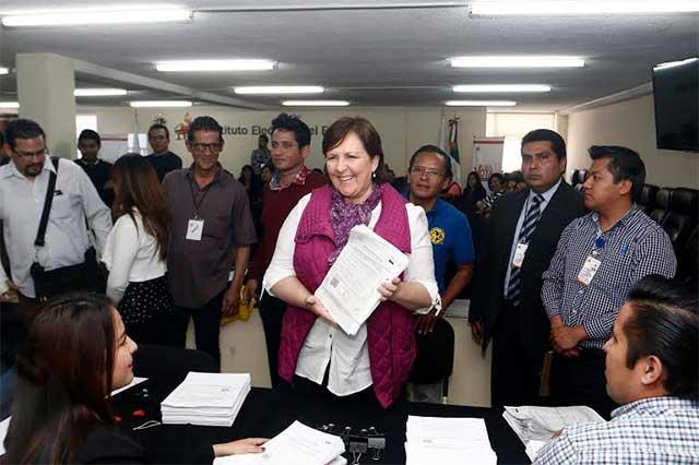 El IEE ya denunció a Ana Tere por falsificación de firmas: abogado