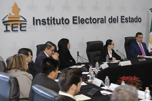 Aspirantes a presidir el IEE comparecerán en enero