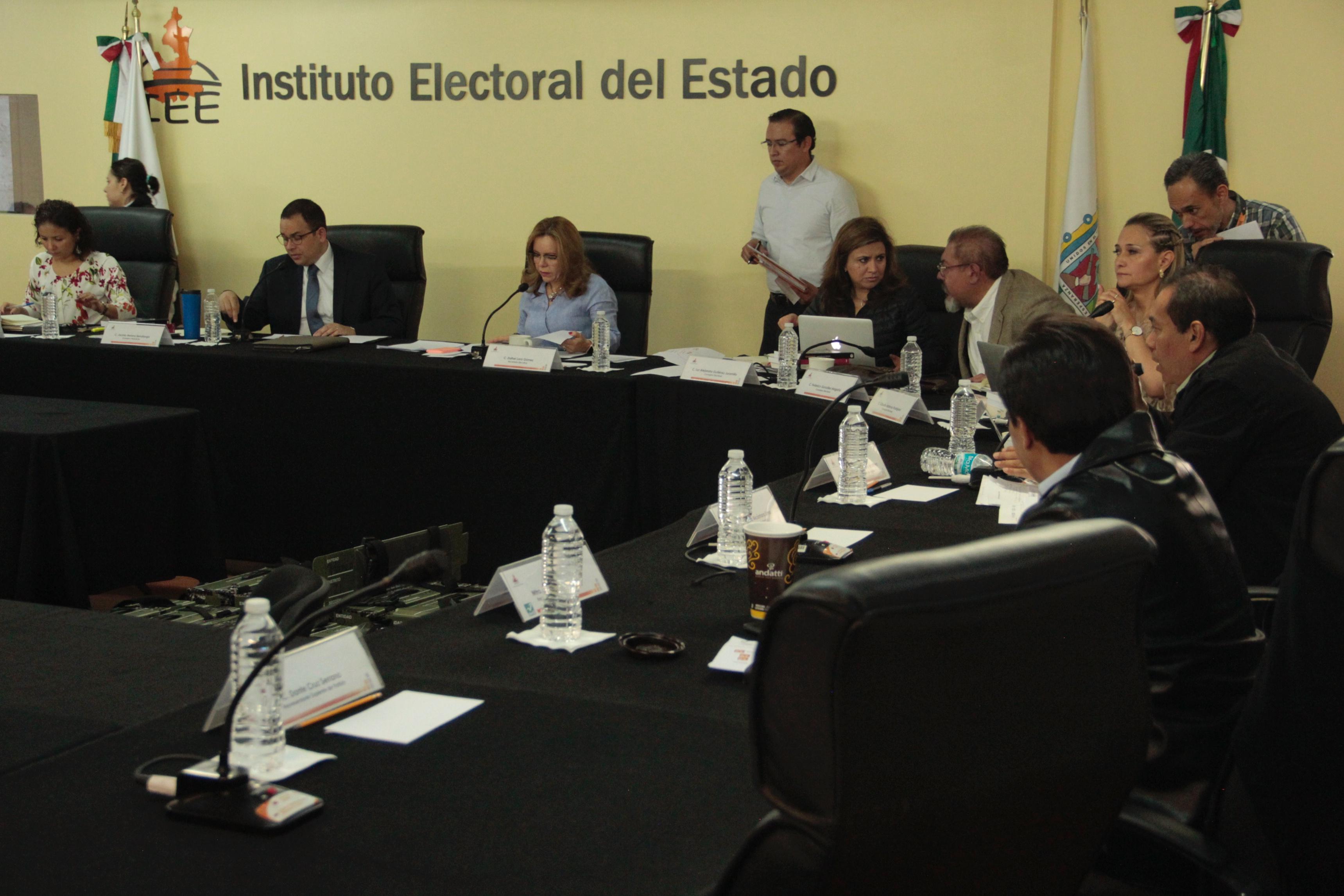 Magaña, Barbosa y Rodríguez terminan periodo en el IEE
