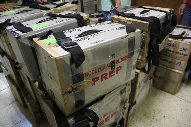 Papelería electoral de Puebla se reciclará para libros: INE