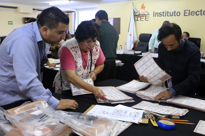IEE atrae los cómputos de 15 municipios y 1 distrito en Puebla