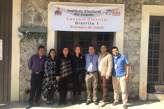 Integra IEE comisiones especiales en 26 consejos distritales de Puebla