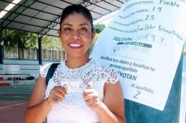 Ratifican el triunfo Karina Rosales en Yeloixtlahuaca