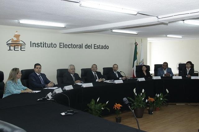 Elección será segura, confiable y transparente: IEE