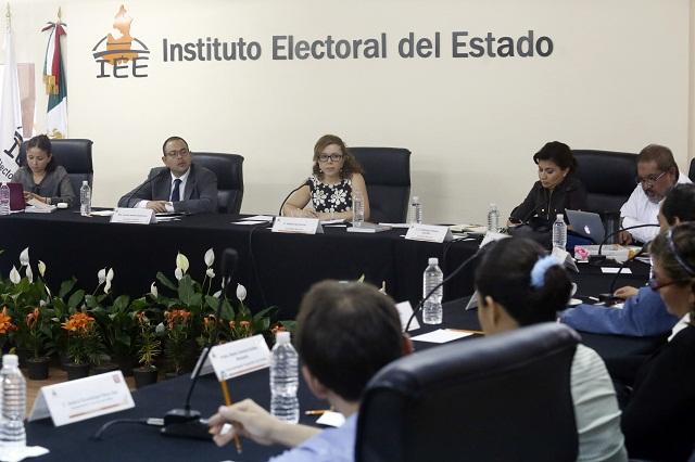 Rechaza IEE acusaciones de anomalías en recuentos