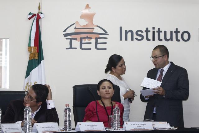 Piden partidos al IEE defina pérdida de registro de partidos