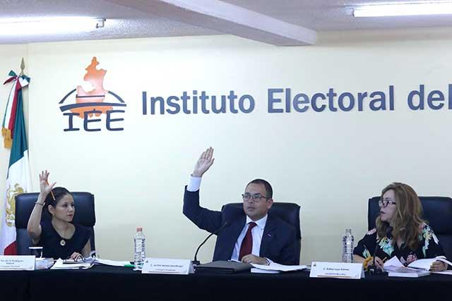 Con apoyo de partidos, IEE aprueba proceso contra Morena