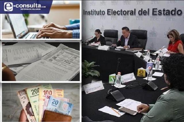 Mitad de presupuesto de IEE va a salarios, asesorías y publicidad