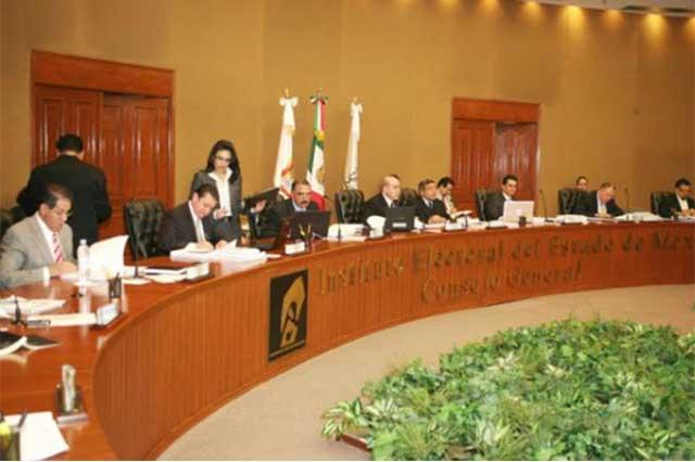 Clausura el IEEM la sesión permanente y la reanudará el miércoles